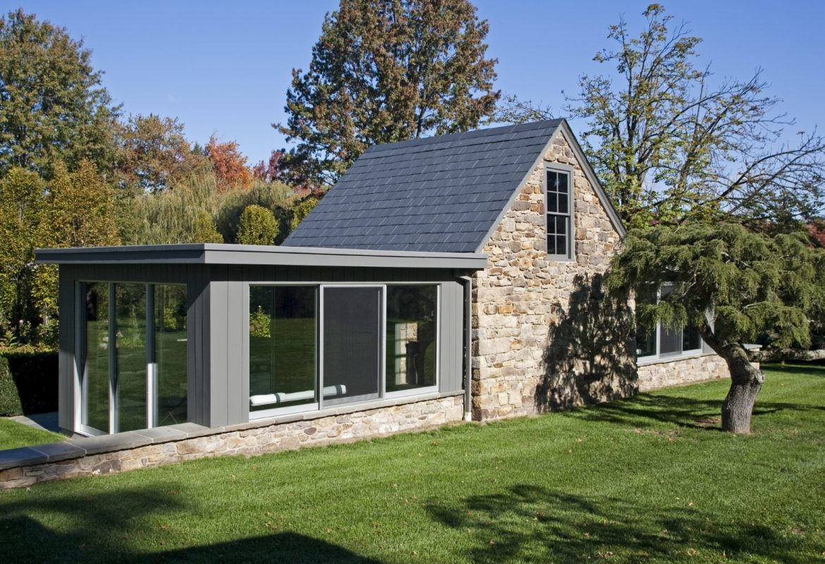 """Contemporary Comeback""- New Hope Outbuilding Renovation:"