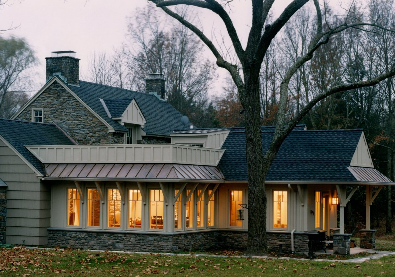 "The ""Wright"" Way- Doylestown Farmhouse Addition"