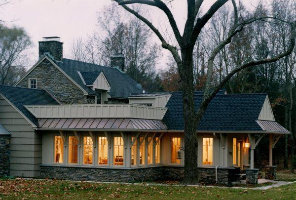 "The ""Wright"" Way- Doylestown Farmhouse Addition"